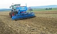 Im Frühjahr und Herbst wird das Getreide gesät